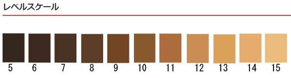 日本ヘアカラー協会(JHCA) 髪の毛の色